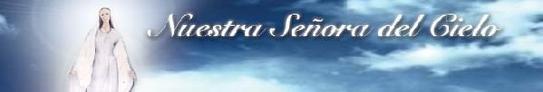 Banner nuestra señora del cielo