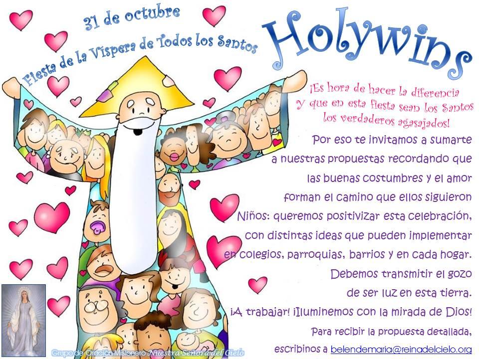 Resultado de imagen de holywins para niños