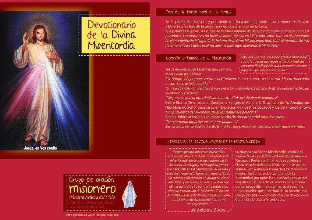 Devocionario de la Divina Misericordia 1