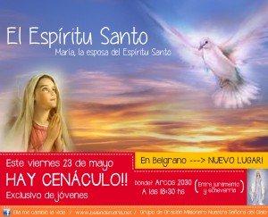 Invitacion Cenaculo Belgrano MAYO 2014
