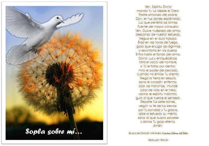 Estampa Secuencia Espiritu Santo
