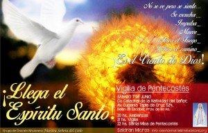 Invitacion a la Vigilia de Pentecostes 2014