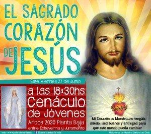 Invitacion Cenaculo de jovenes 27-06-14