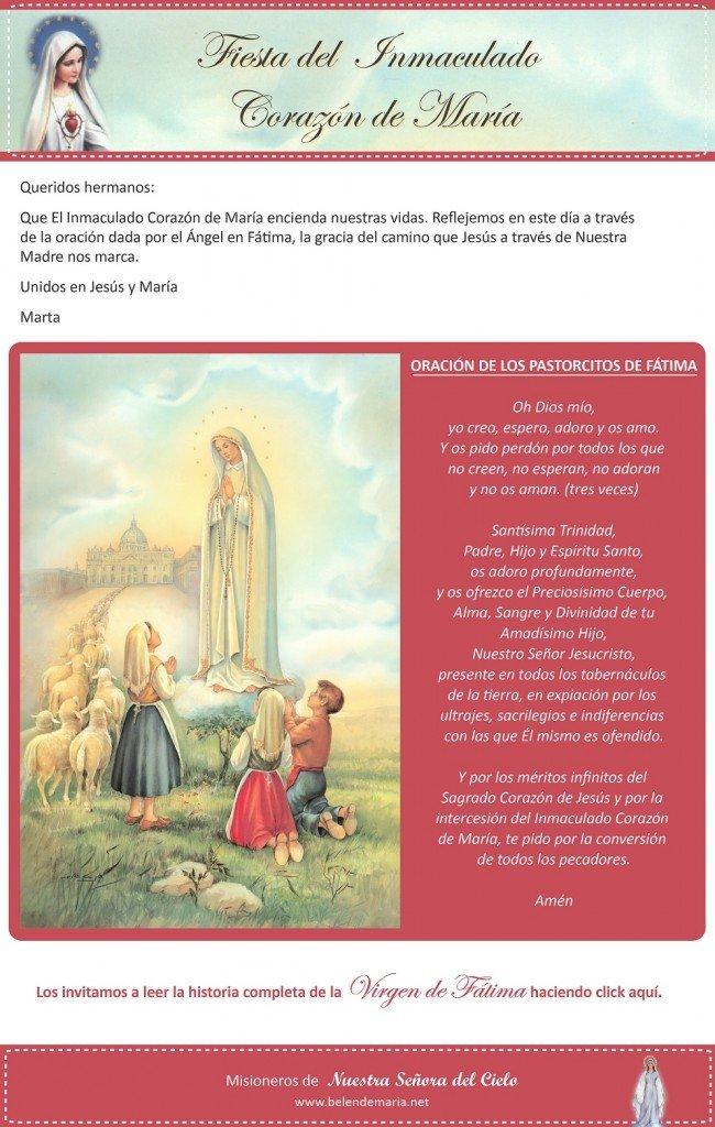 jpg envio inmaculado corazon de Maria  2014