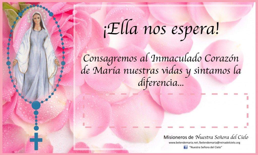 Consagracion al Inmaculado Corazon 2014 - Comunidades