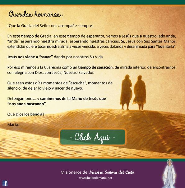 Camino de Cuaresma 2015 - Envio