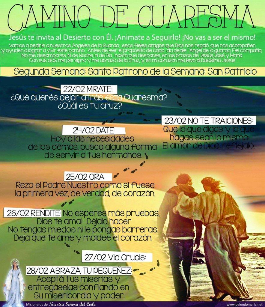 Camino de Cuaresma 2015 - Semana 2