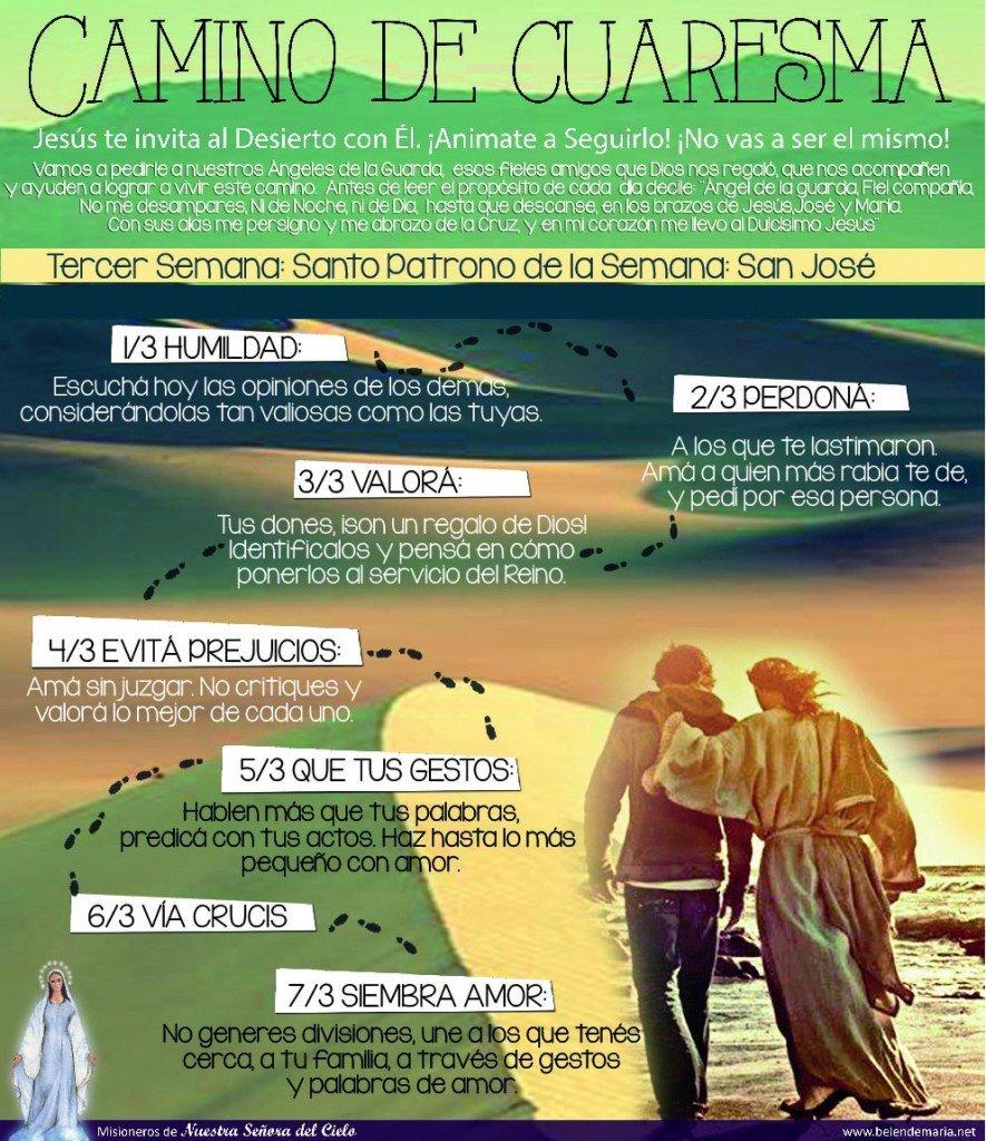 Camino de Cuaresma 2015 - Semana 3