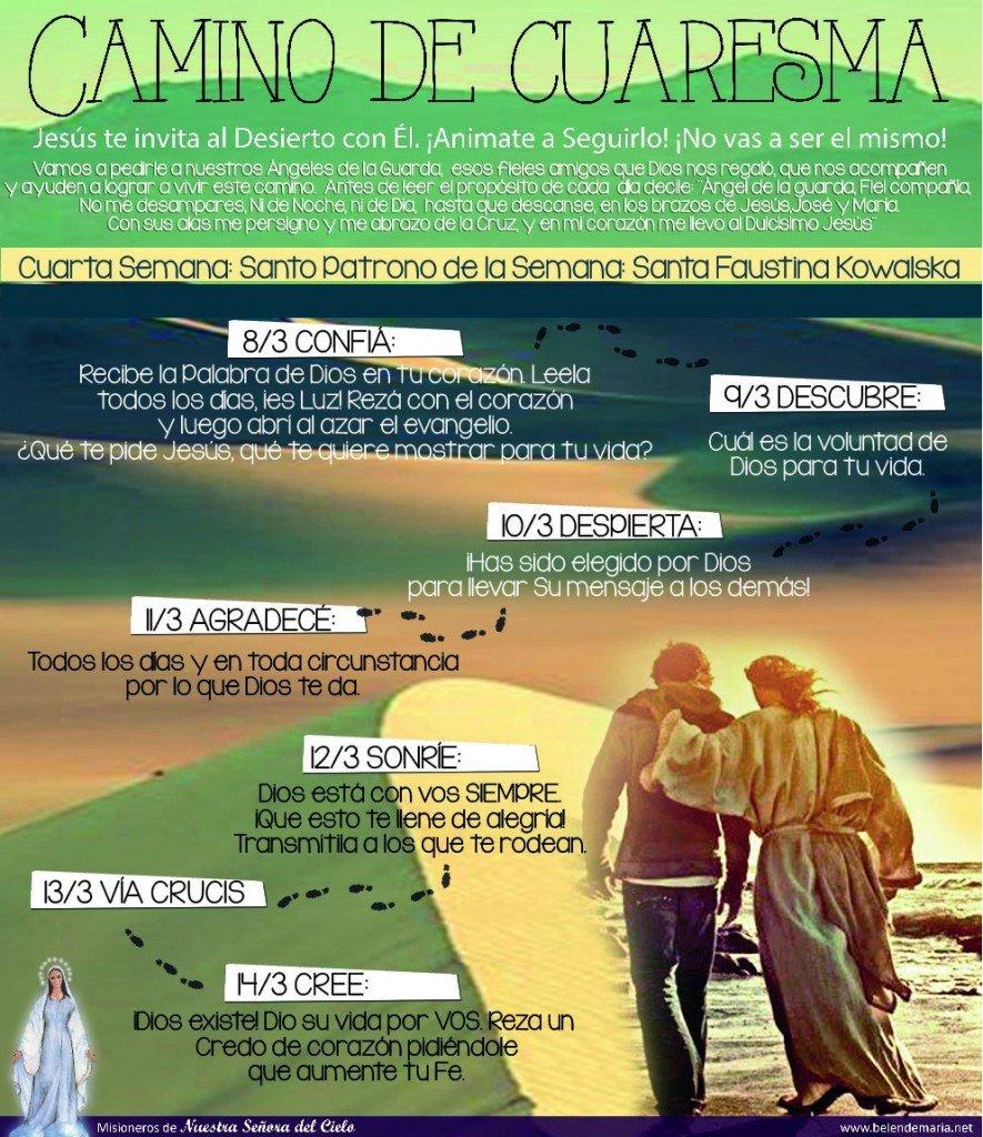 Camino de Cuaresma 2015 - Semana 4