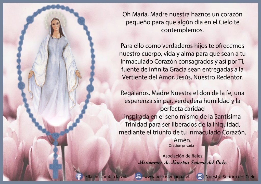 Oracion de Consagracion - OK