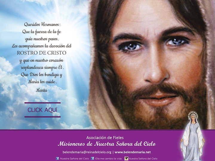 JPG envio Rostro de Cristo 2016 - OK