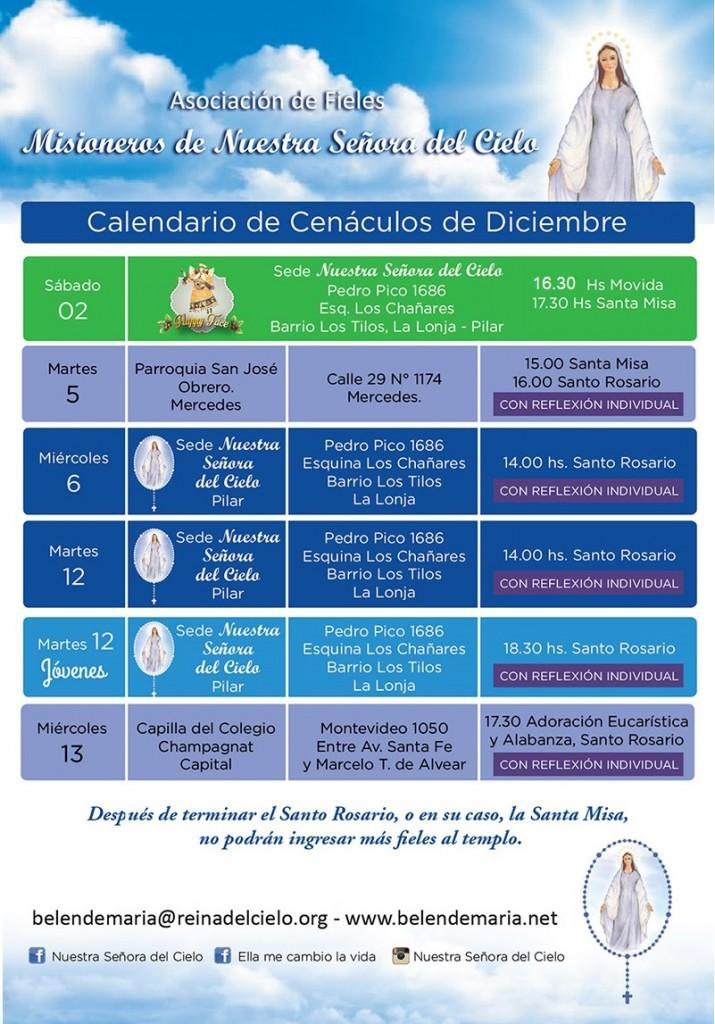 Diciembre 2017 - Baja