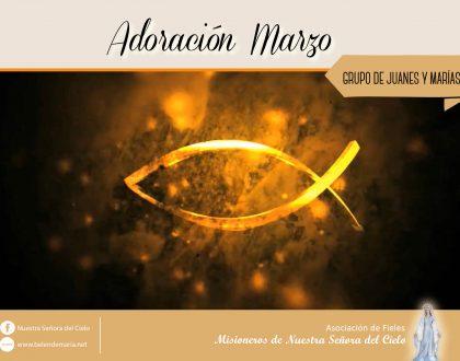 Grupos de Juanes y Marías: Marzo 2018