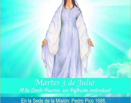 Cenáculo en Pilar: 03-07-18