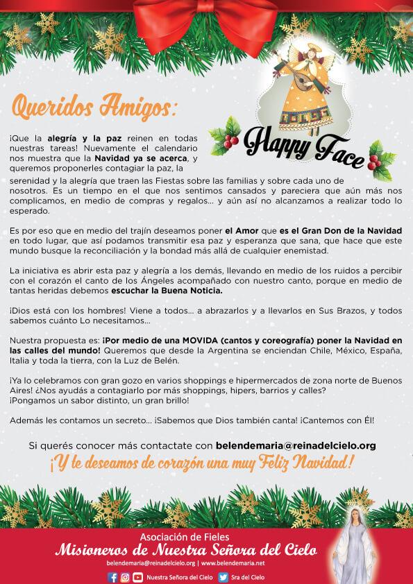 Llega la Navidad 🎅🏻 Llega el Niñito Dios🤴🏻 Llega Happy Face 😃