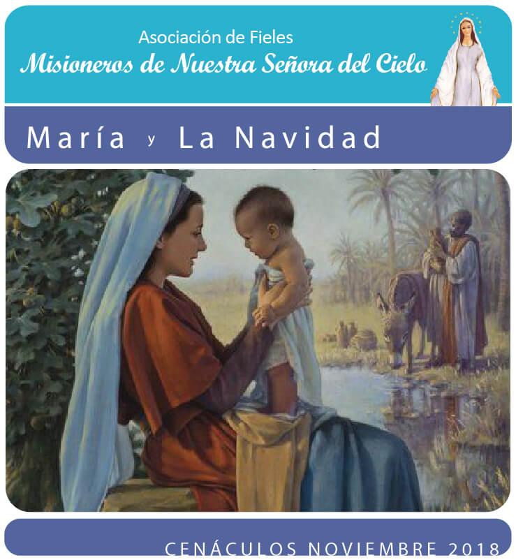 Cenáculos de Noviembre: Maria y la Navidad