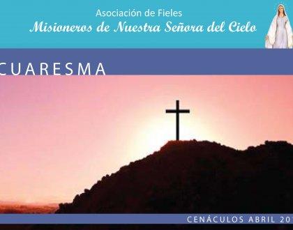 Cenáculos de Abril: Semana Santa