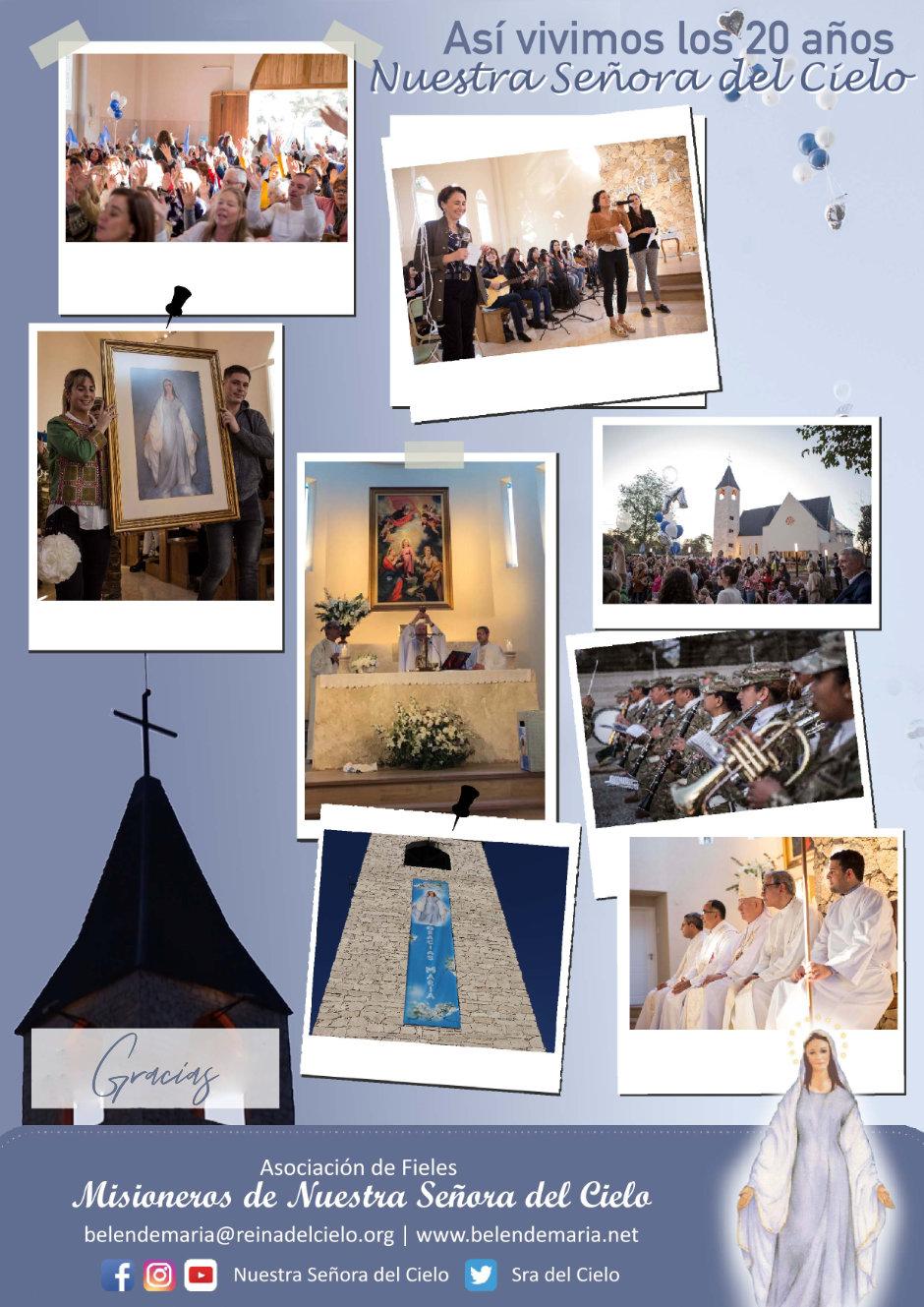 Viviendo 20 años con Nuestra Señora del Cielo 👑