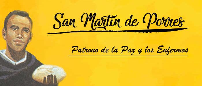 San Martín de Porres - 3 de noviembre