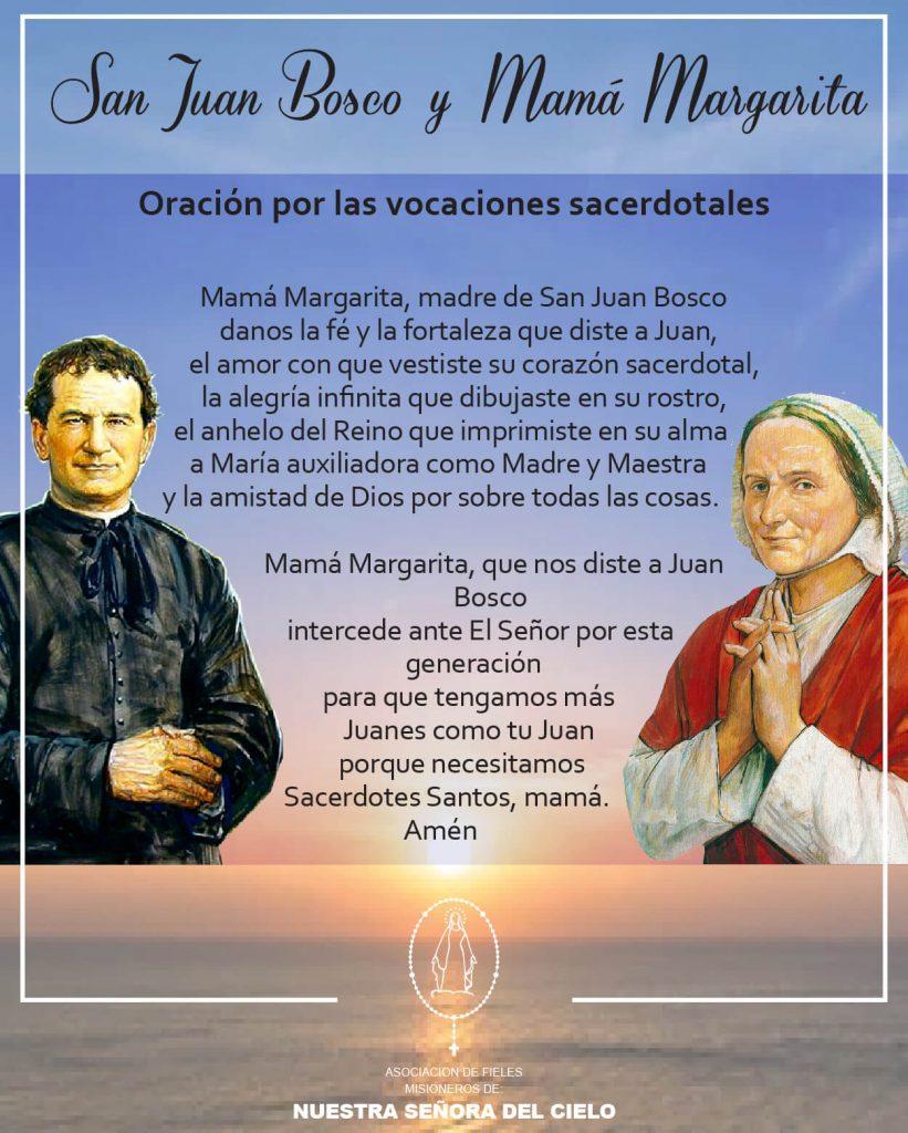 San Juan Bosco y Mamá Margarita