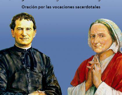Oración por las vocaciones sacerdotales