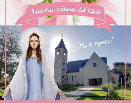 Peregrinación virtual a Nuestra Señora del Cielo