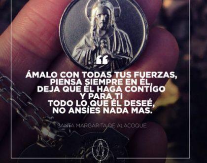 Santa Margarita María de Alacoque